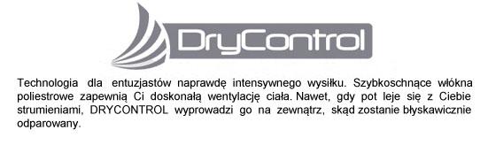 Technologia Dry Control stosowana w koszulkach marki 4F