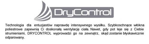 Technologia Dry Control stosowana w koszulkach rowerowych marki 4F