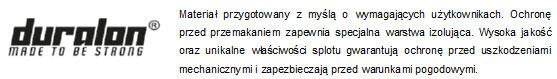 Pokrowiec na buty PKB001 marki 4F - opis materiału Duralon | SportowyBazar.pl