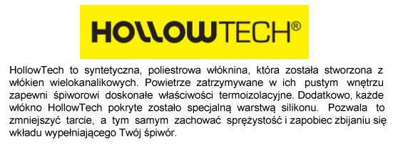 Technologia HollowTech w śpiworach 4F | sportowybazar.pl