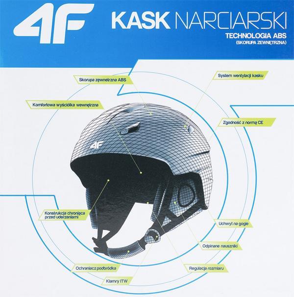 Kask narciarski marki 4F - opis | sportowybazar.pl