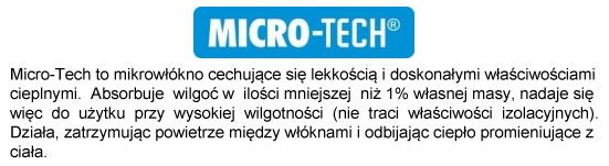 Tkanina MicroTech w śpiworach marki 4F | sportowybazar.pl
