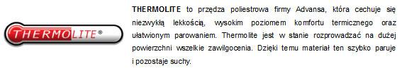 Tkanina Thermolite w skarpetach 4F - sportowybazar.pl