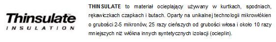 System Thinsulate - infografika | sportowybazar.pl