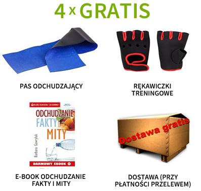 Pas neoprenowy, rękawiczki treningowe, e-book i dostawa gratis!