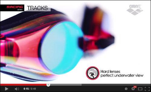 Okularki do pływania Tracks Mirror Arena - film prezentujący produkt | sportowybazar.pl