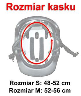 Kask a2152 Axer Sport - rozmiar, obwód wewnętrzny | SportowyBazar.pl