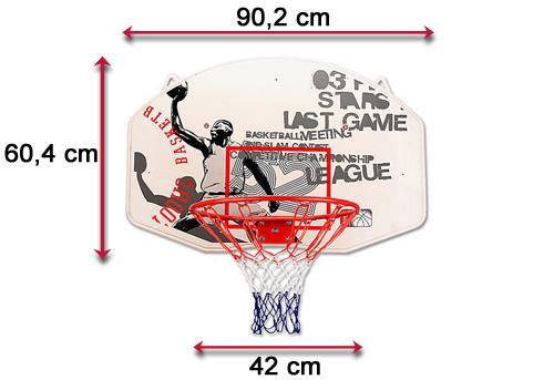 Tablica do koszykówki 16nw | sportowybazar.pl
