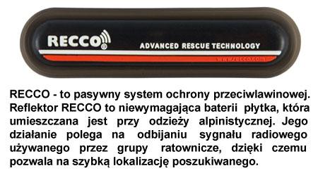 Kurtki zimowe marki Brugi - opis nadajnika Recco | sportowybazar.pl