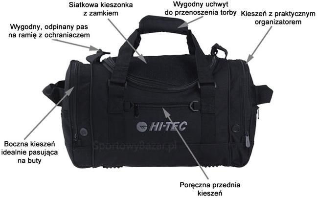 Torba sportowo-turystyczna Onyx 40L Hi-Tec | sportowybazar.pl