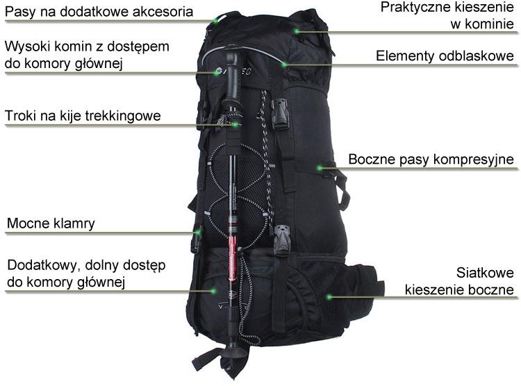 Plecak V-Lite Tantan marki Hi-Tec w sklepie sportowybazar.pl