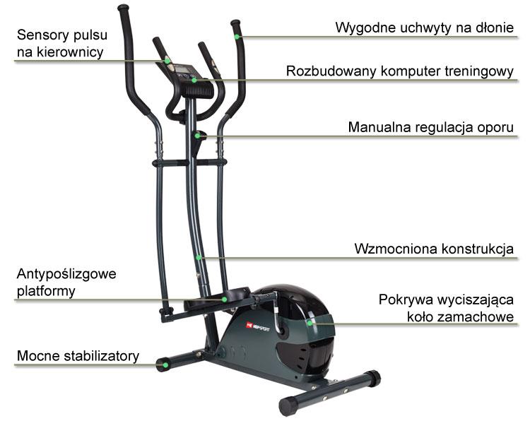 Oribitrek HS-4030 marki Hop-Sport | sportowybazar.pl