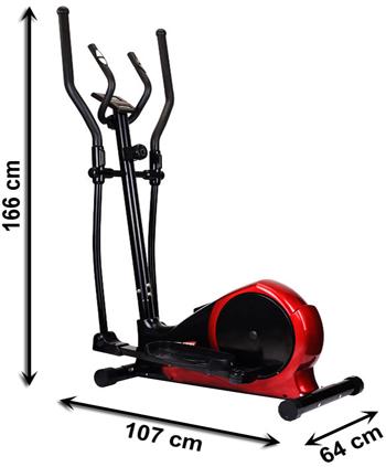 Orbitrek magnetyczny HS-45E ROCKET marki Hop-Sport - wymiary