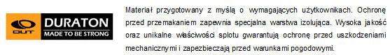 Plecaki marki Outhorn - technologia Duraton | sportowybazar.pl